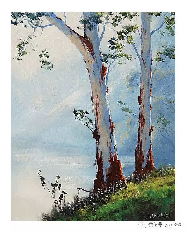 风景油画  澳大利亚印象派画家Graham Gercken作品插图53