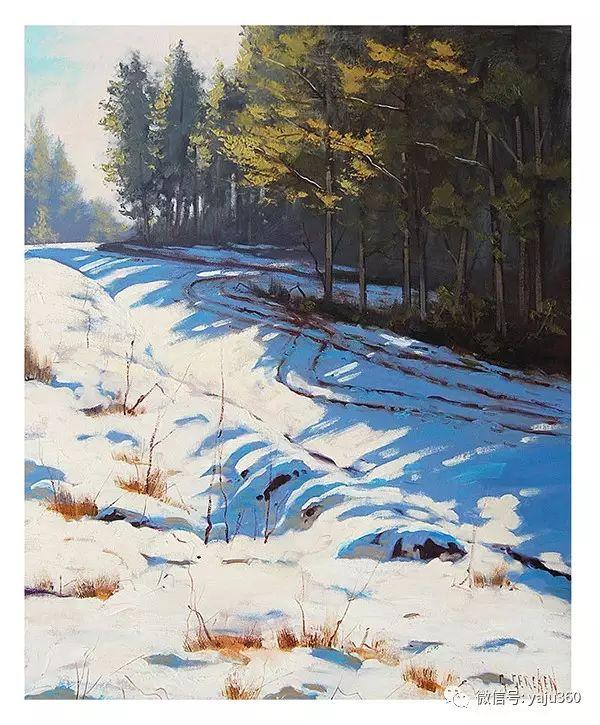 风景油画  澳大利亚印象派画家Graham Gercken作品插图55