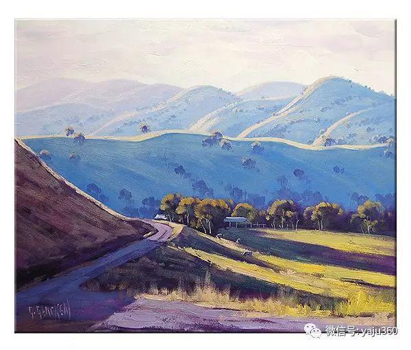 风景油画  澳大利亚印象派画家Graham Gercken作品插图57