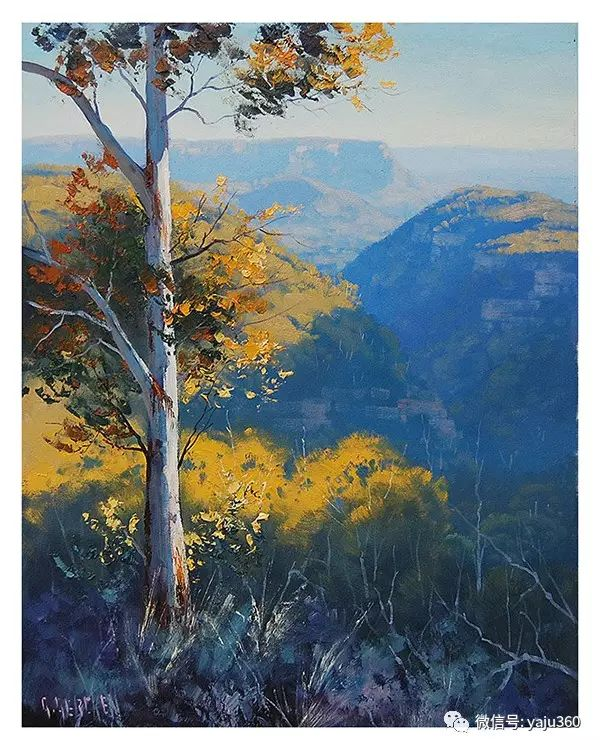 风景油画  澳大利亚印象派画家Graham Gercken作品插图59