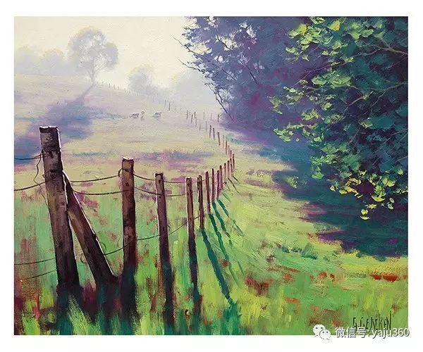 风景油画  澳大利亚印象派画家Graham Gercken作品插图61