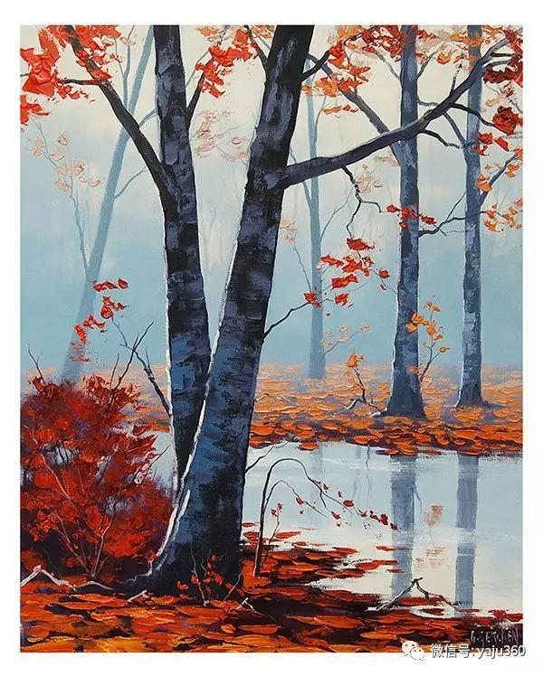 风景油画  澳大利亚印象派画家Graham Gercken作品插图63