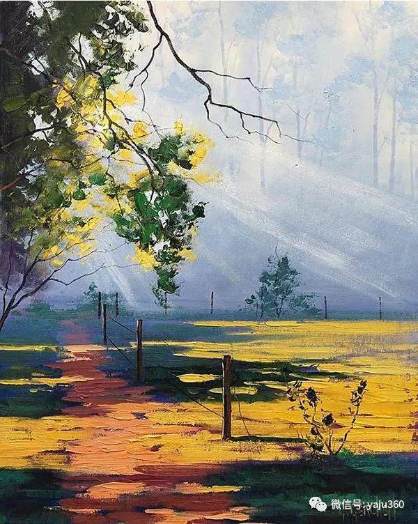 风景油画  澳大利亚印象派画家Graham Gercken作品插图65