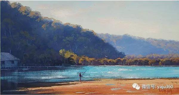风景油画  澳大利亚印象派画家Graham Gercken作品插图69