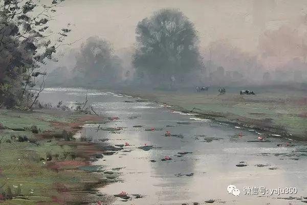 风景油画  澳大利亚印象派画家Graham Gercken作品插图73