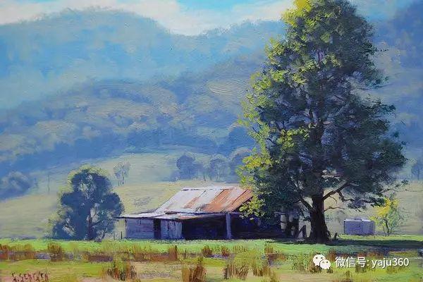 风景油画  澳大利亚印象派画家Graham Gercken作品插图75
