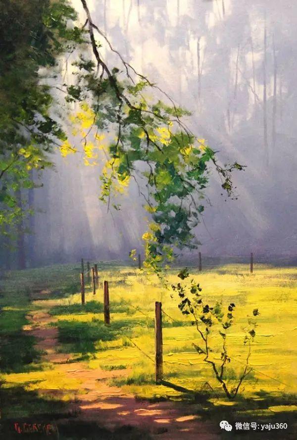风景油画  澳大利亚印象派画家Graham Gercken作品插图81