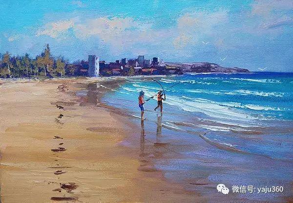 风景油画  澳大利亚印象派画家Graham Gercken作品插图83