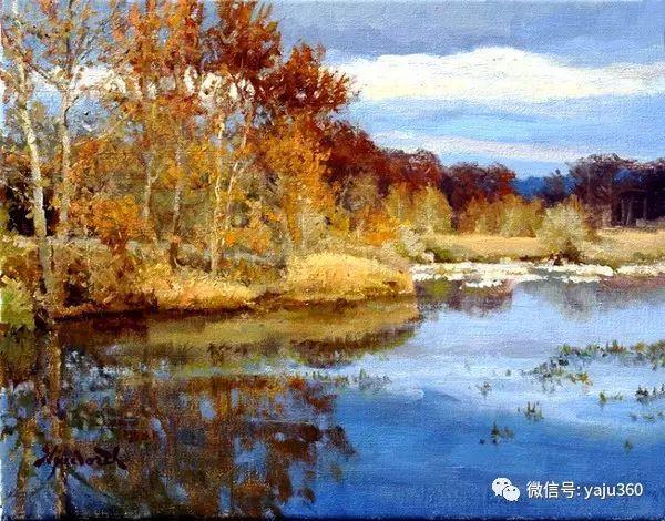 美国著名传统风景画家马克霍沃思插图13