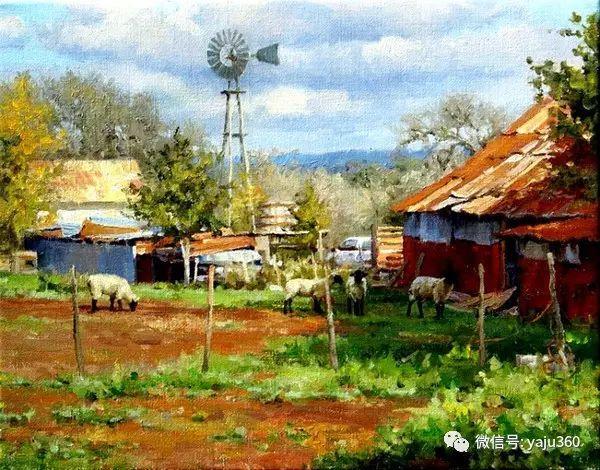 美国著名传统风景画家马克霍沃思插图17