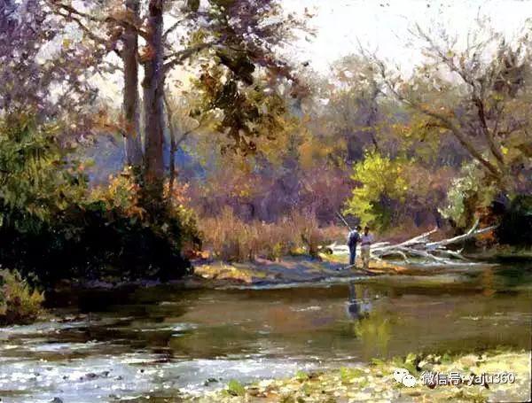 美国著名传统风景画家马克霍沃思插图19