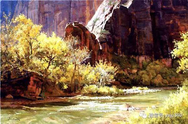 美国著名传统风景画家马克霍沃思插图23