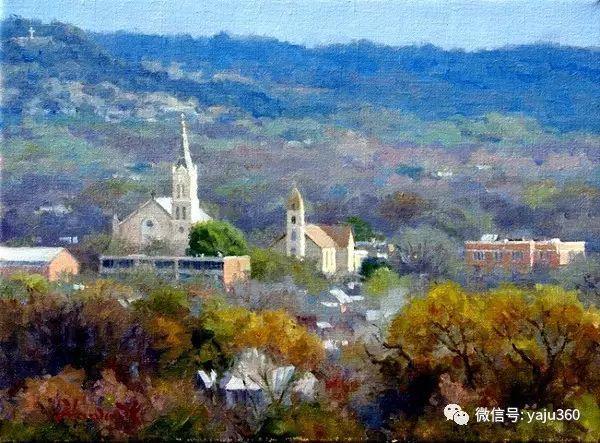 美国著名传统风景画家马克霍沃思插图25