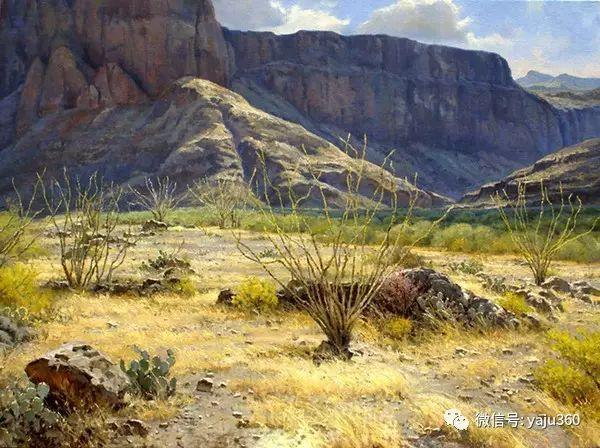 美国著名传统风景画家马克霍沃思插图27