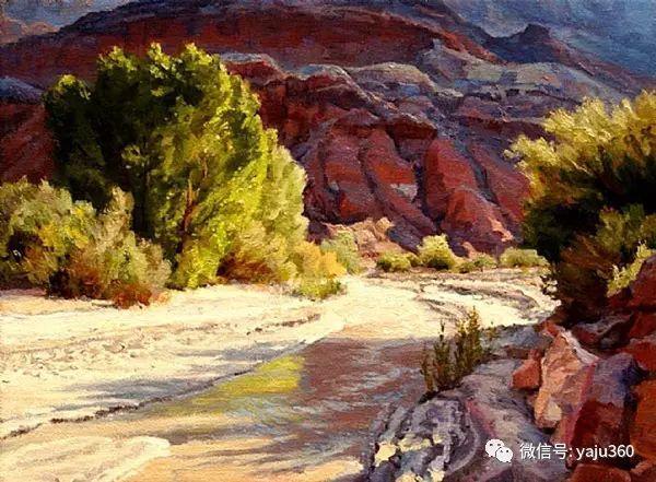 美国著名传统风景画家马克霍沃思插图35