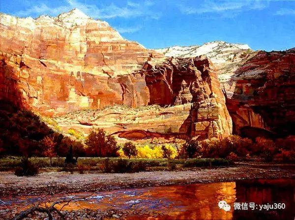 美国著名传统风景画家马克霍沃思插图37