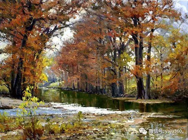 美国著名传统风景画家马克霍沃思插图39