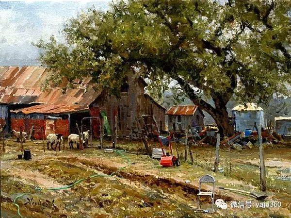 美国著名传统风景画家马克霍沃思插图45