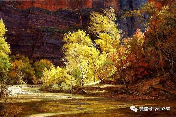 美国著名传统风景画家马克霍沃思插图51