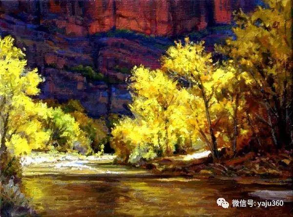美国著名传统风景画家马克霍沃思插图53