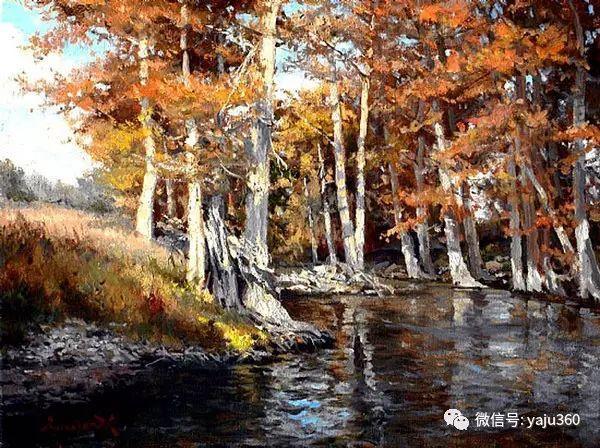 美国著名传统风景画家马克霍沃思插图55