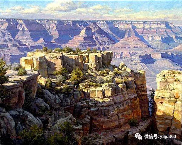 美国著名传统风景画家马克霍沃思插图59