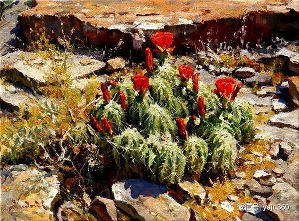 美国著名传统风景画家马克霍沃思插图65