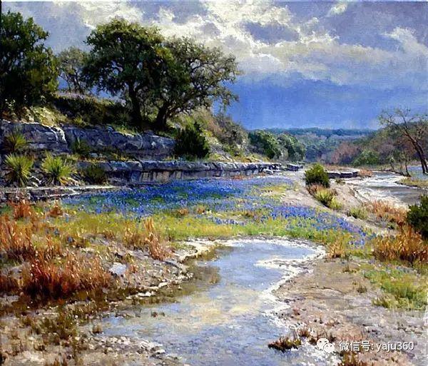 美国著名传统风景画家马克霍沃思插图67