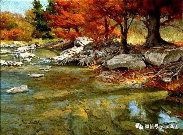 美国著名传统风景画家马克霍沃思插图71