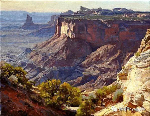 美国著名传统风景画家马克霍沃思插图79