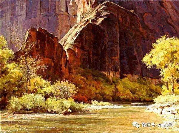 美国著名传统风景画家马克霍沃思插图81