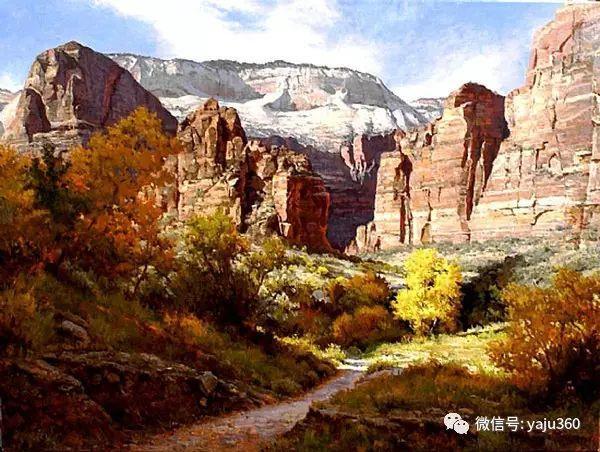美国著名传统风景画家马克霍沃思插图83
