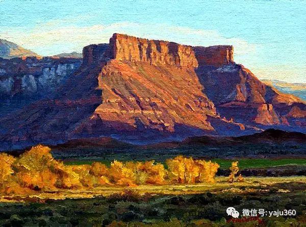 美国著名传统风景画家马克霍沃思插图85