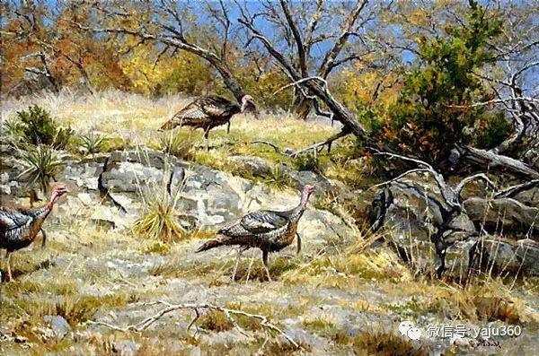 美国著名传统风景画家马克霍沃思插图87