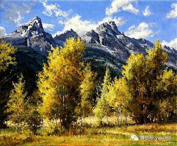 美国著名传统风景画家马克霍沃思插图89