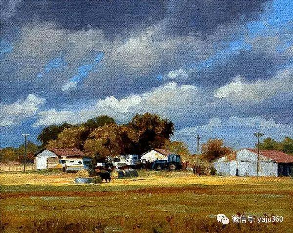 美国著名传统风景画家马克霍沃思插图91