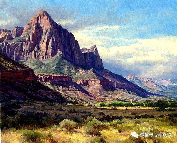 美国著名传统风景画家马克霍沃思插图97