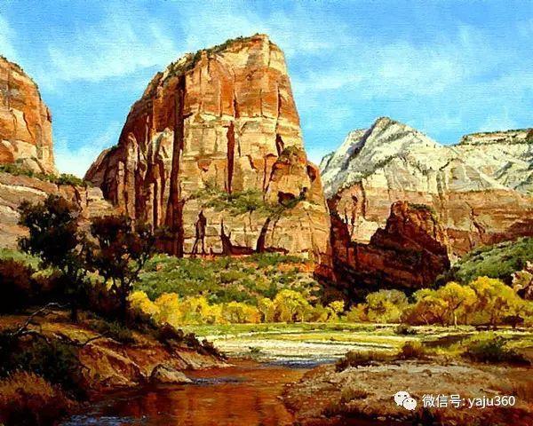 美国著名传统风景画家马克霍沃思插图107