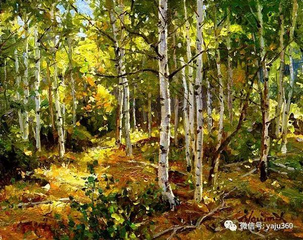 美国著名传统风景画家马克霍沃思插图109