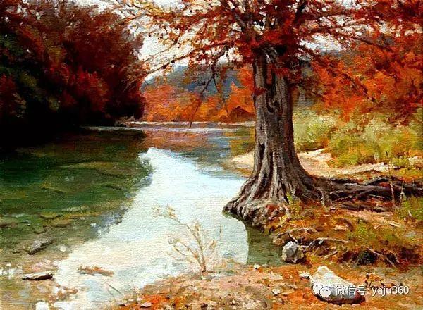 美国著名传统风景画家马克霍沃思插图113