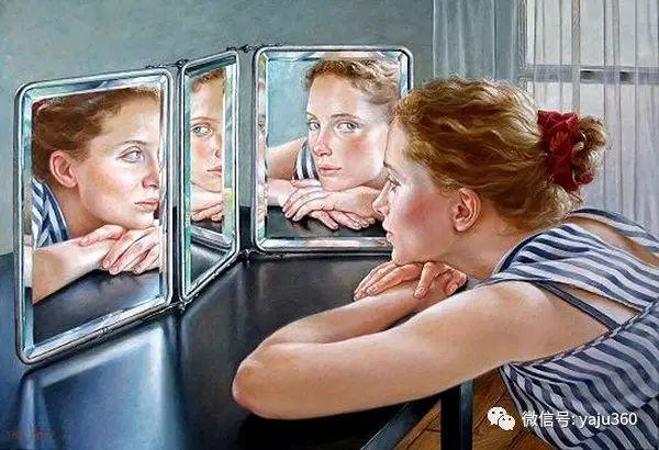 亲密与和平  法国女画家弗朗辛凡霍夫人物油画插图7