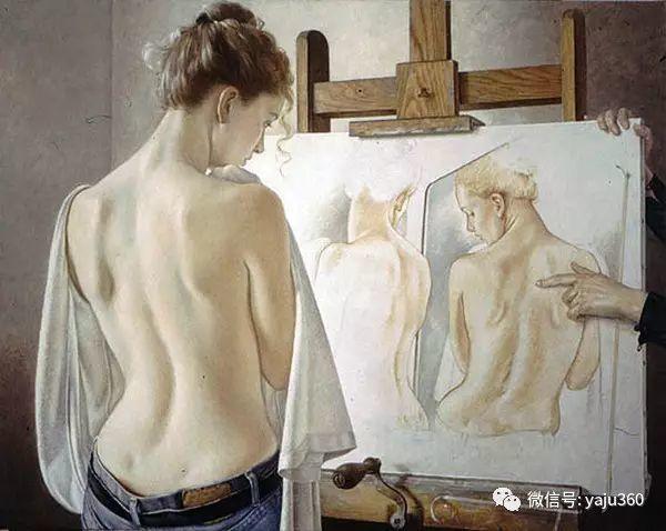 亲密与和平  法国女画家弗朗辛凡霍夫人物油画插图15