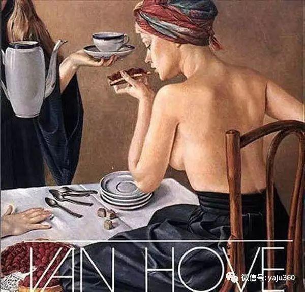 亲密与和平  法国女画家弗朗辛凡霍夫人物油画插图17