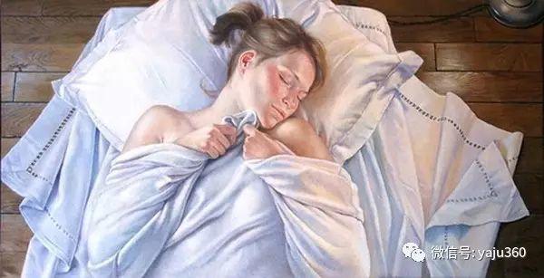亲密与和平  法国女画家弗朗辛凡霍夫人物油画插图23