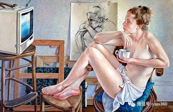 亲密与和平  法国女画家弗朗辛凡霍夫人物油画插图29