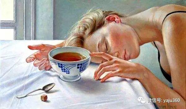 亲密与和平  法国女画家弗朗辛凡霍夫人物油画插图31