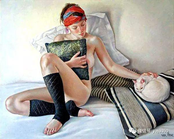 亲密与和平  法国女画家弗朗辛凡霍夫人物油画插图35