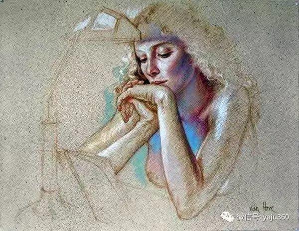 亲密与和平  法国女画家弗朗辛凡霍夫人物油画插图41