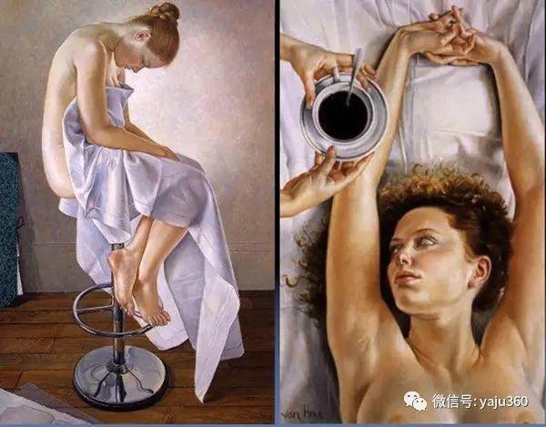 亲密与和平  法国女画家弗朗辛凡霍夫人物油画插图43