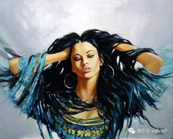 女性之美 波兰艺术家Karol Bak油画作品插图1